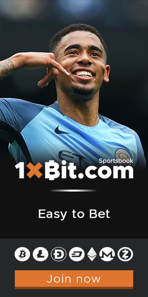 Place the best football bets on 1xBit